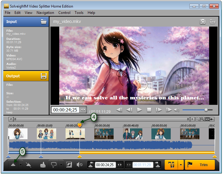 How to edit video files with subtitles