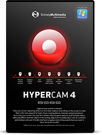 HyperCam - download powerful screen capture software / SolveigMM